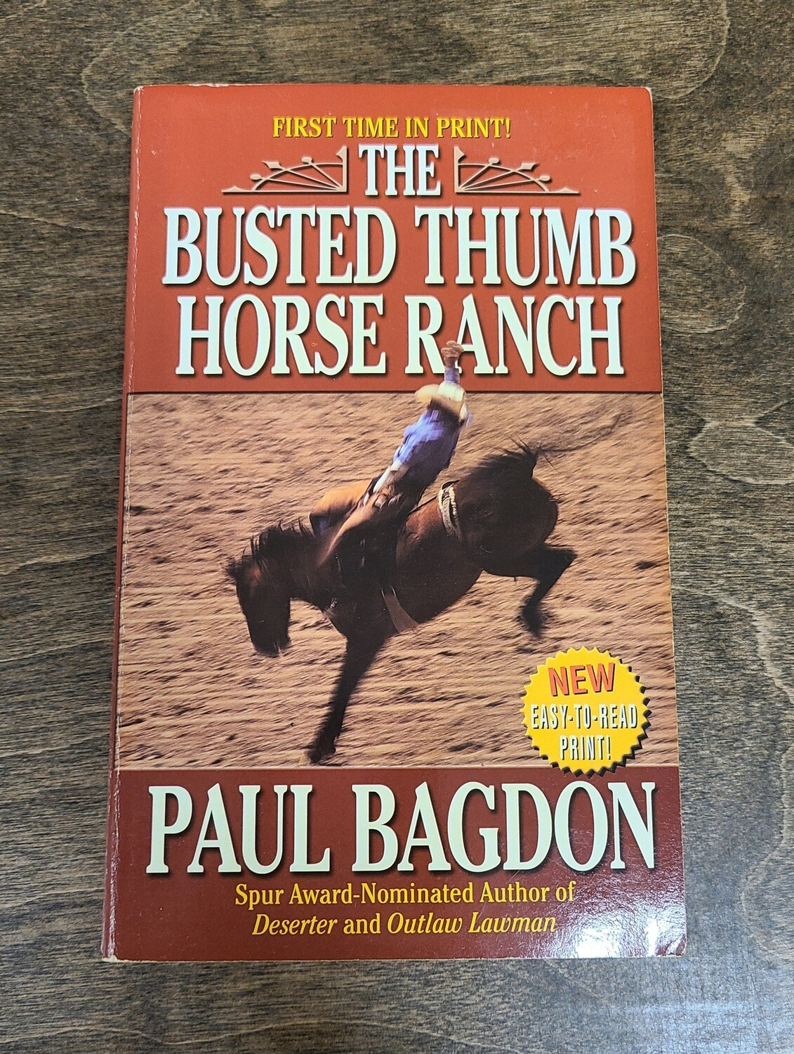 The Busted Thumb Horse Ranch by Paul Bagdon