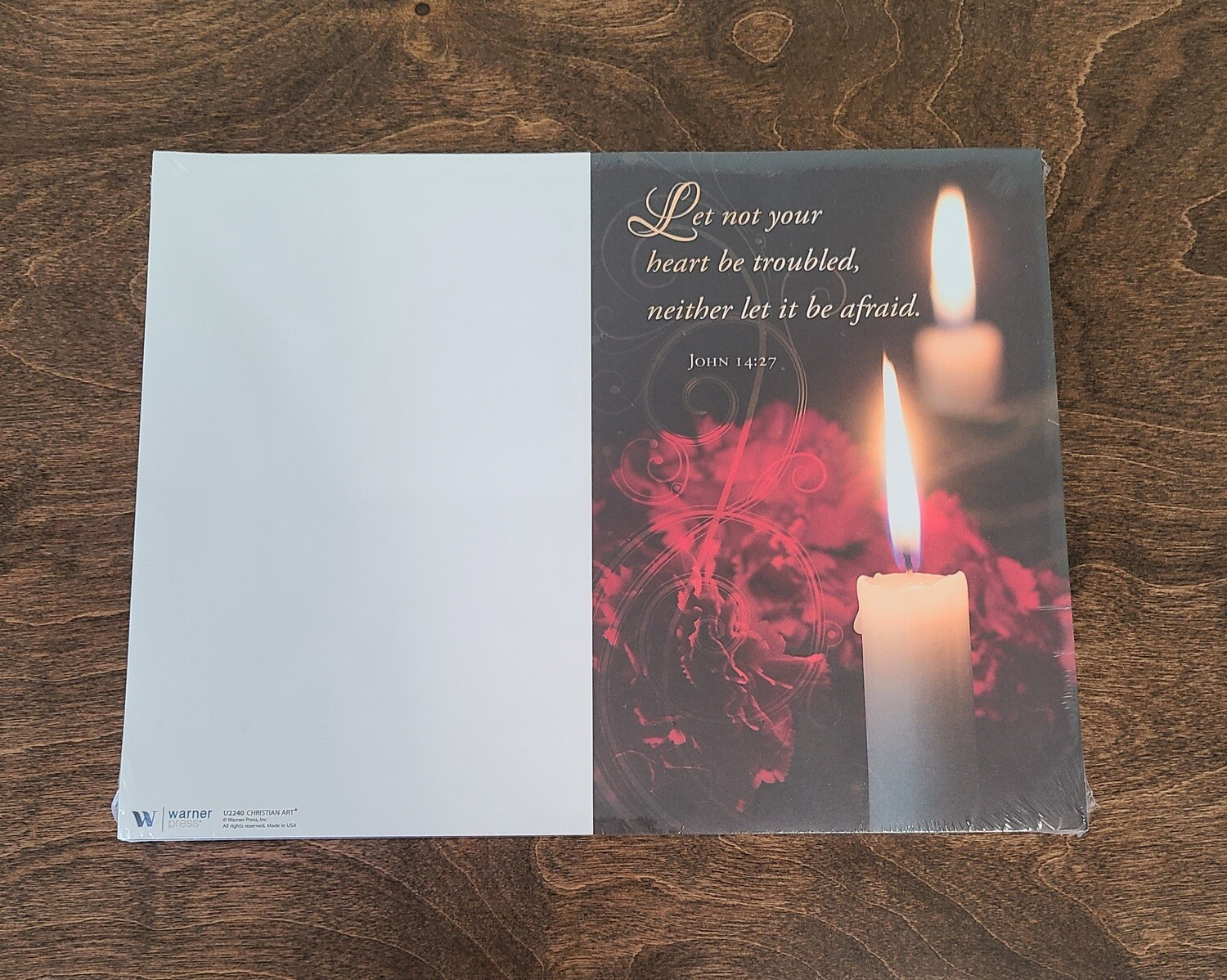 Let Not Your Heart Be Troubled Bulletin - Pack of 100