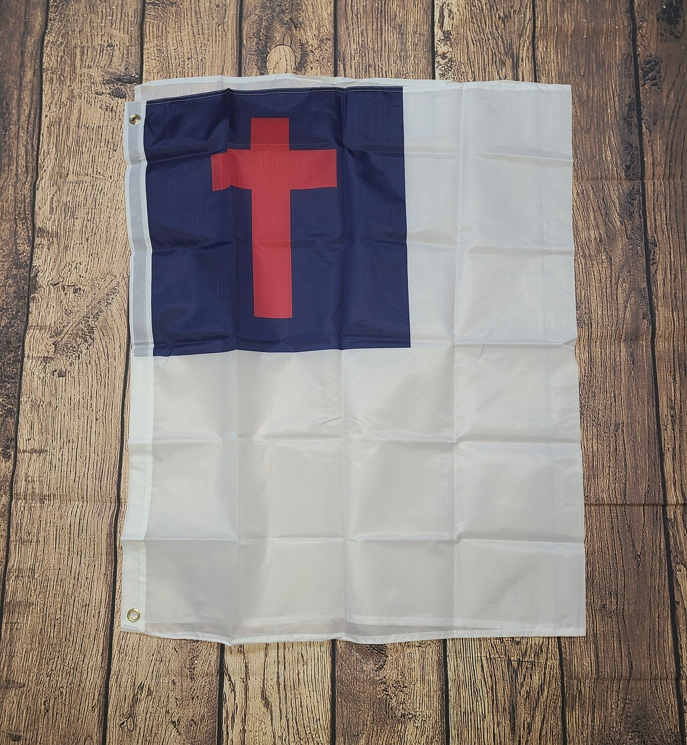 Inspirational Christian Outside Flag