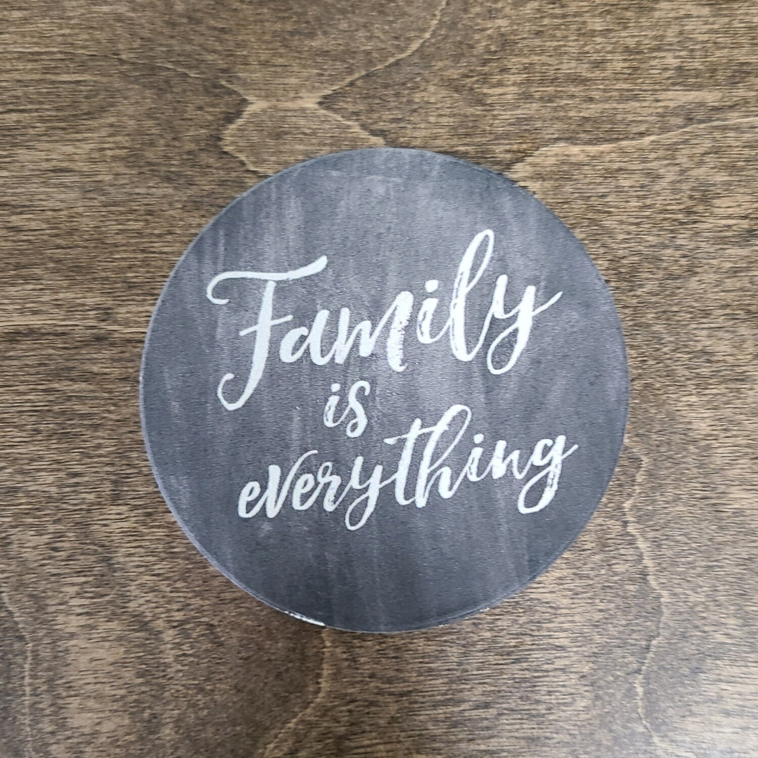 Family is Everything Car Coaster