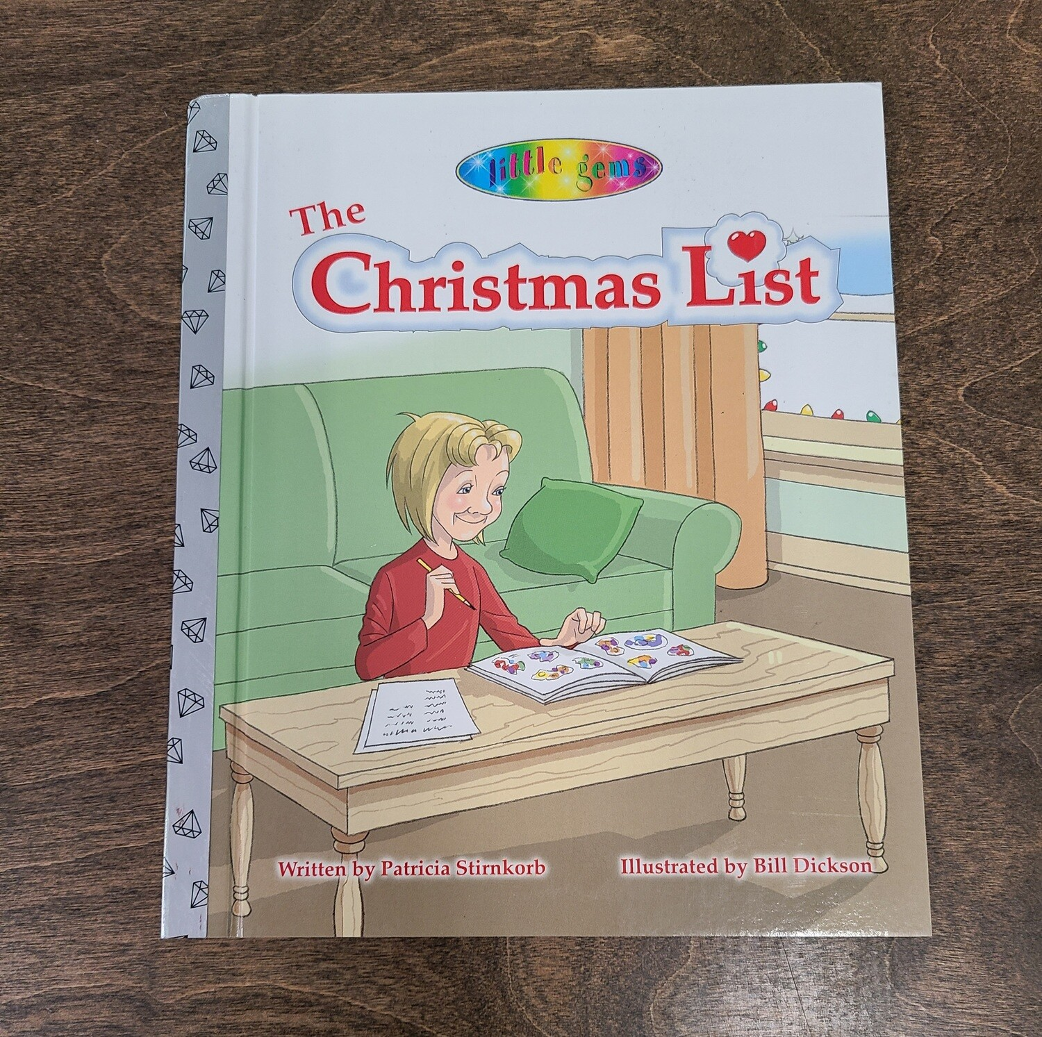 The Christmas List by Patricia Stirnkorb and Bill Dickson