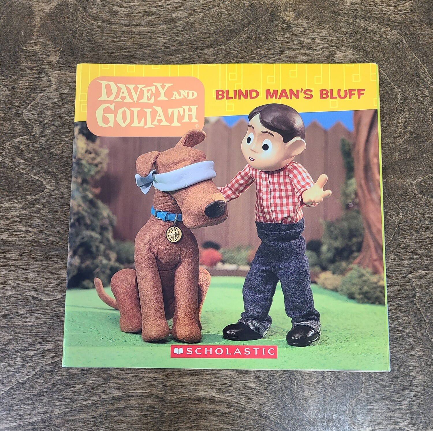 Davey and Goliath: Blind Man's Bluff by Sue Wright