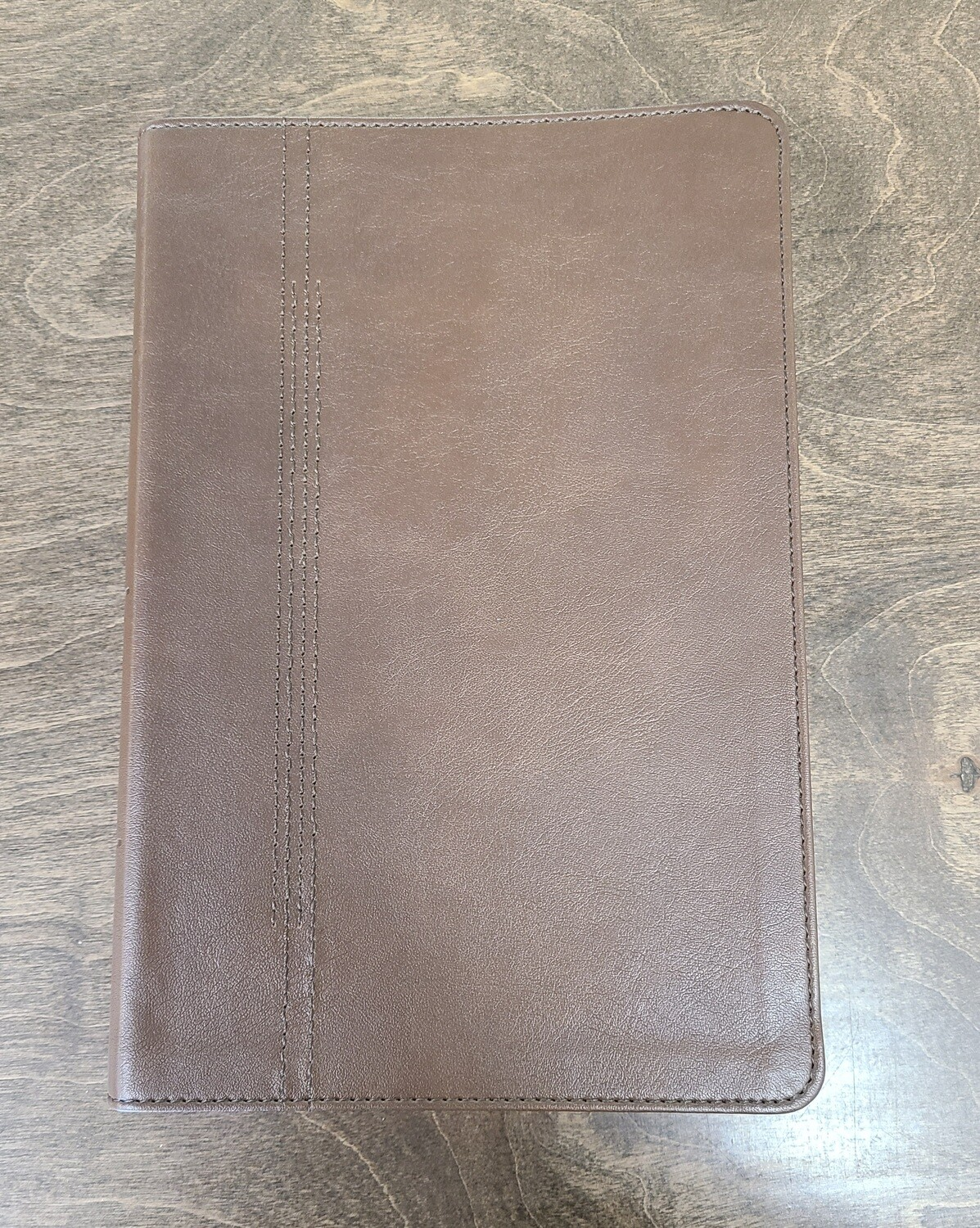 CSB Restoration Bible - Brown Leathertouch