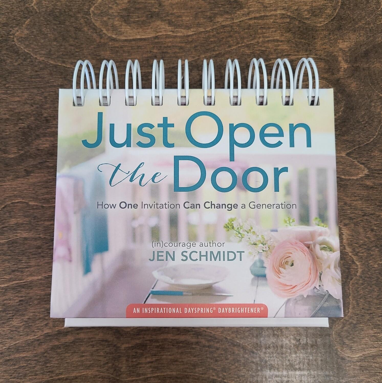 Just Open the Door 365 Day Perpetual Calendar