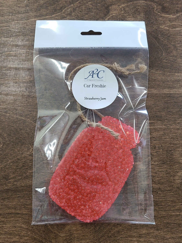 Car Freshies - Strawberry Jam - Jar