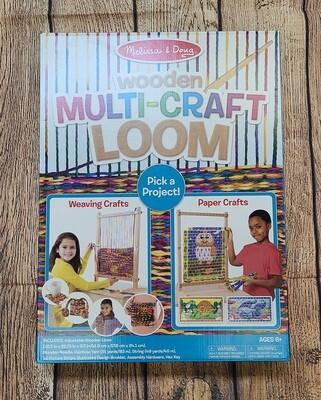 Melissa and Doug Wooden Multi-Craft Loom Kit