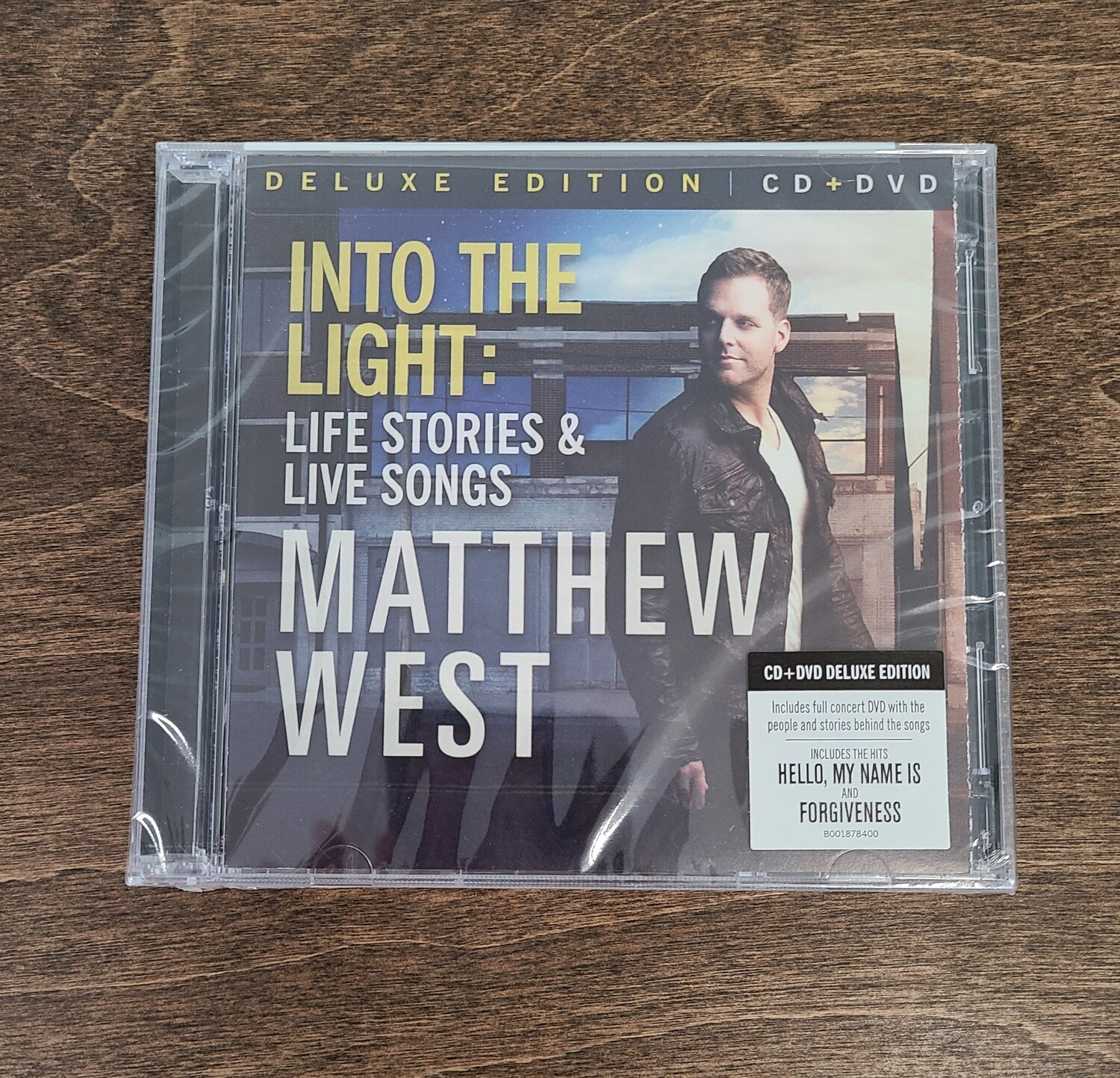 Into the Light: Life Stories and Live Songs by Matthew West Deluxe Edition