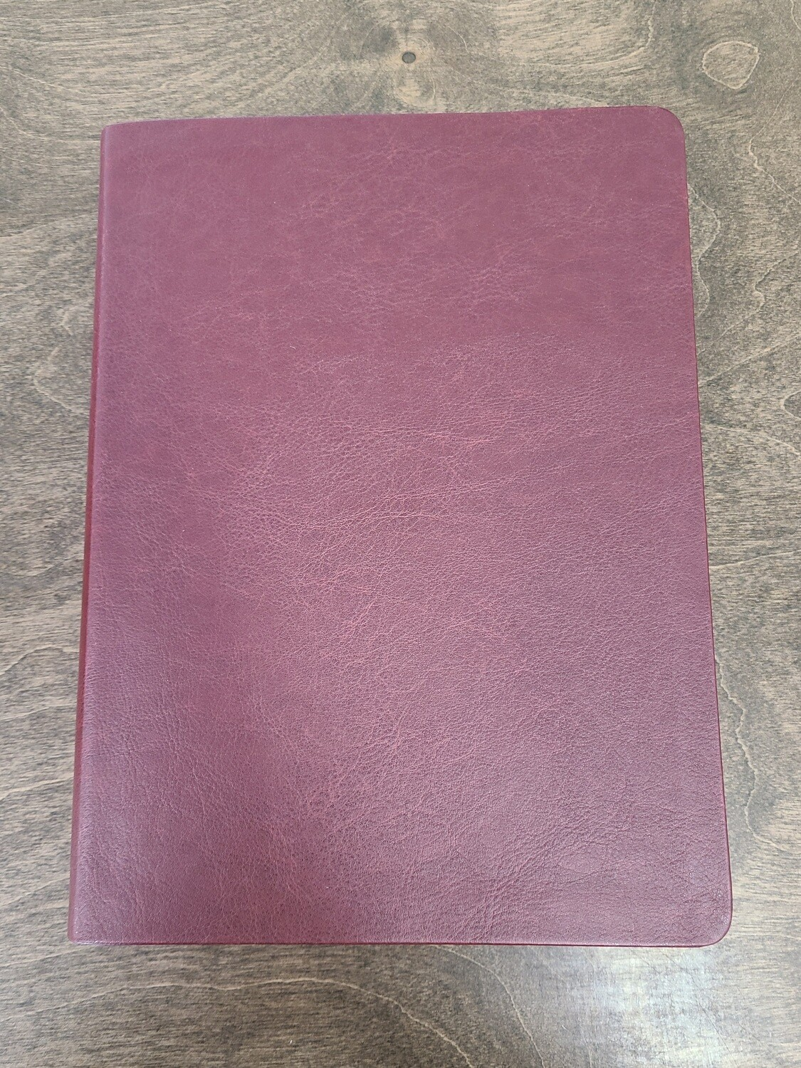 The Message: Large Print - Burgundy Leatherlook by Eugene H. Peterson