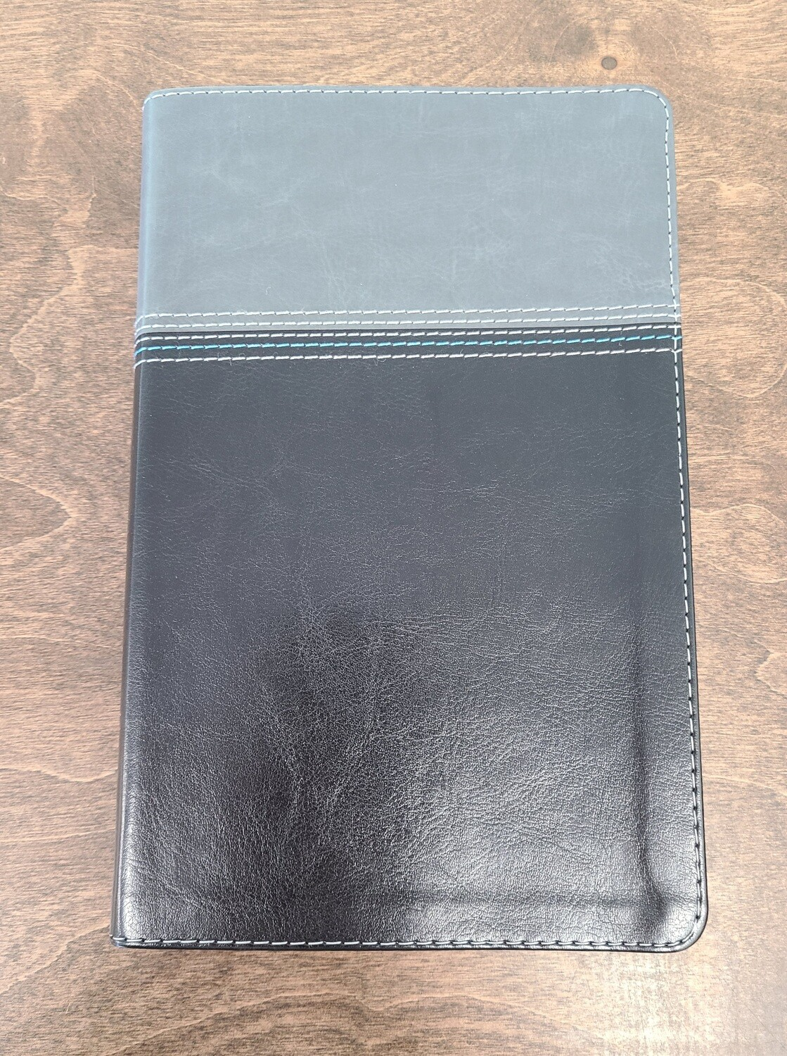 NASB Thinline Black Leather Standard Bible