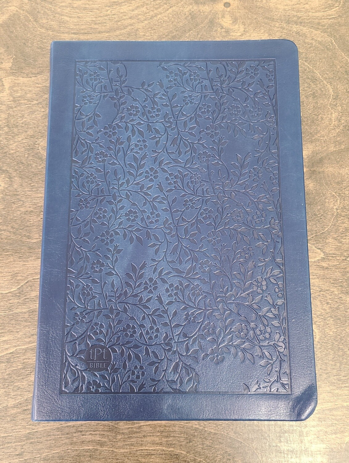 The Passion Translation - New Testament - Large Print Navy Leather