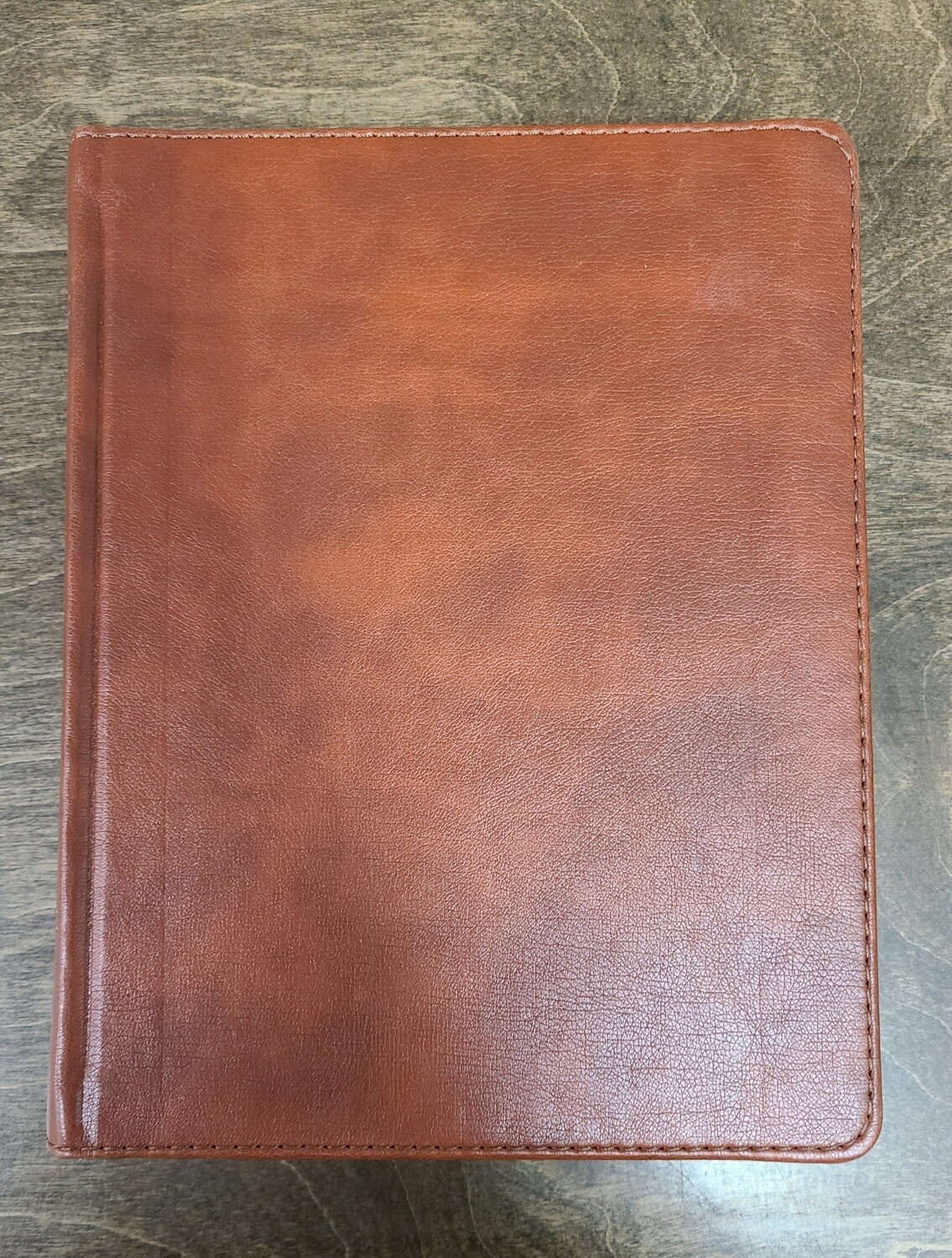 HCSB Illustrator's Notetaking Bible - British Tan Soft Leather-Look