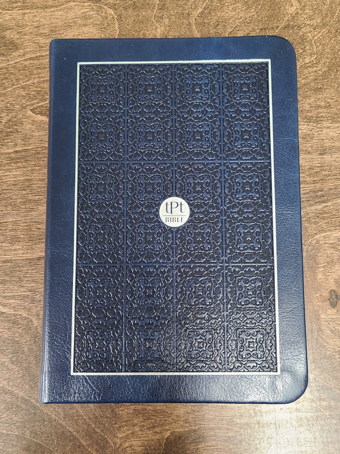 The Passion Translation - New Testament - Compact Edition: Navy Leather