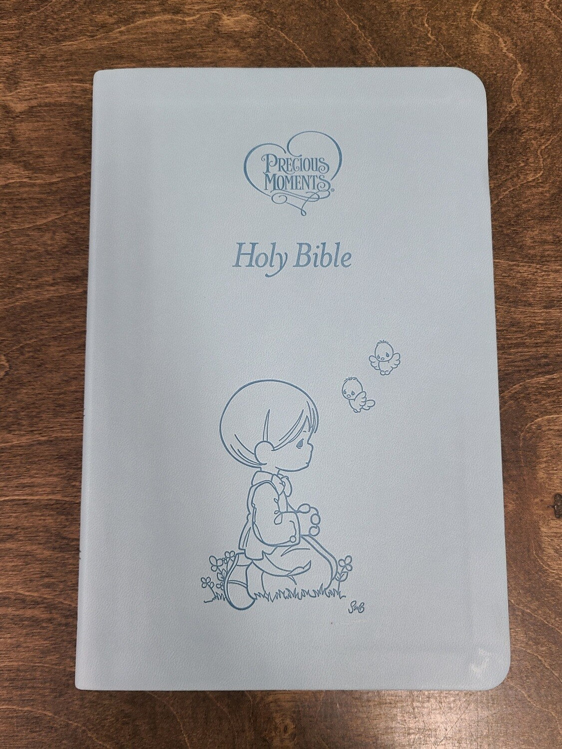 ICB Precious Moments Children's Holy Bible - Blue Leather