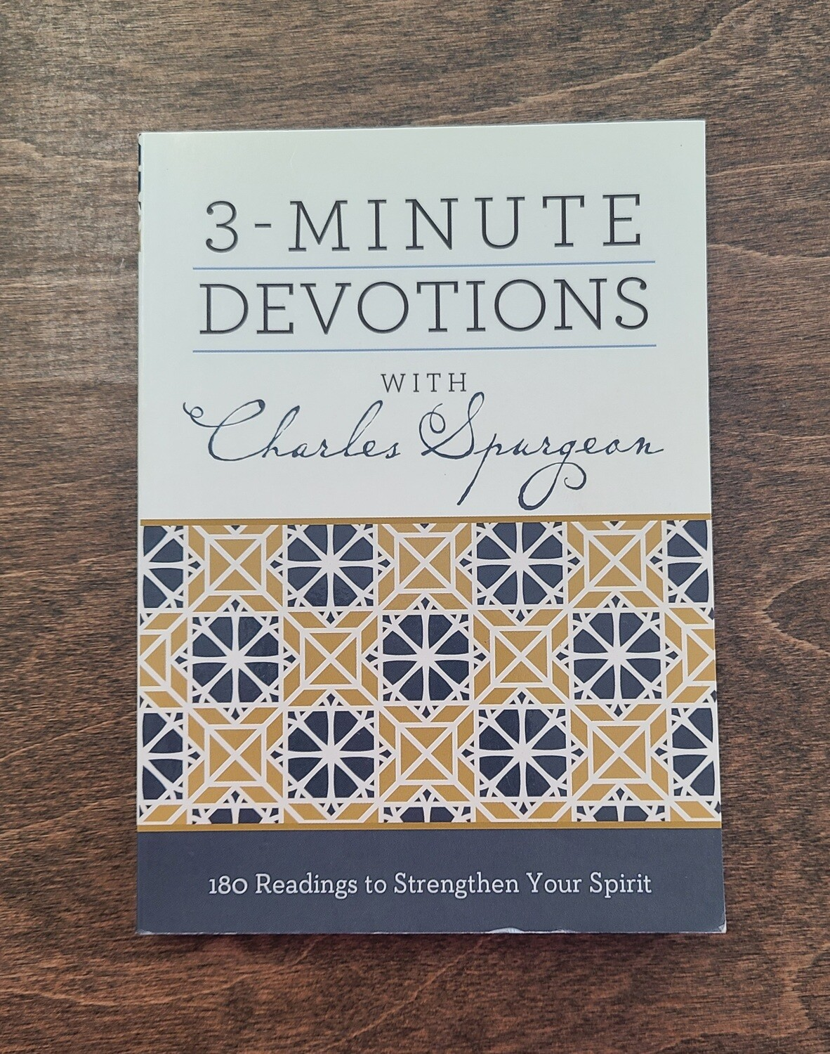 3-Minute Devotions with Charles Spurgeon by Barbour Publishing, Inc. and Shanna D. Gregor