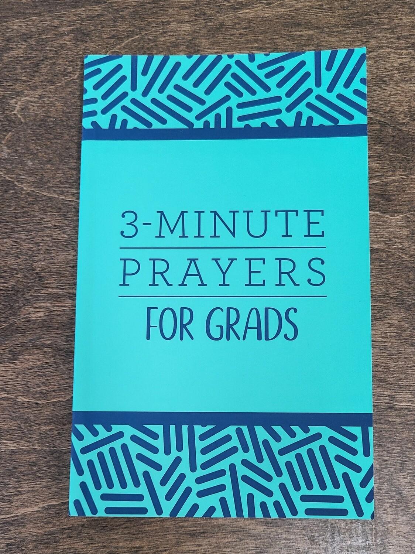 3-Minute Prayers for Grads by Jean Fischer