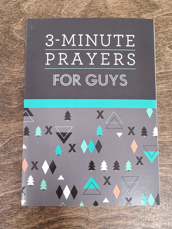 3-Minute Prayers for Guys by Glenn Hascall