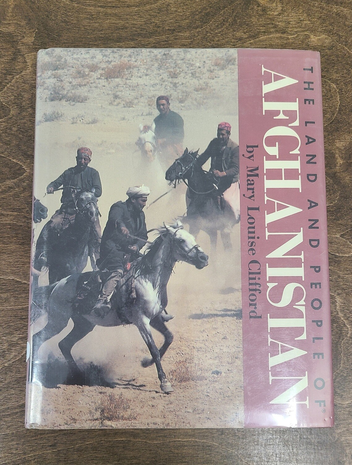The Land and People of Afghanistan by Mary Louise Clifford