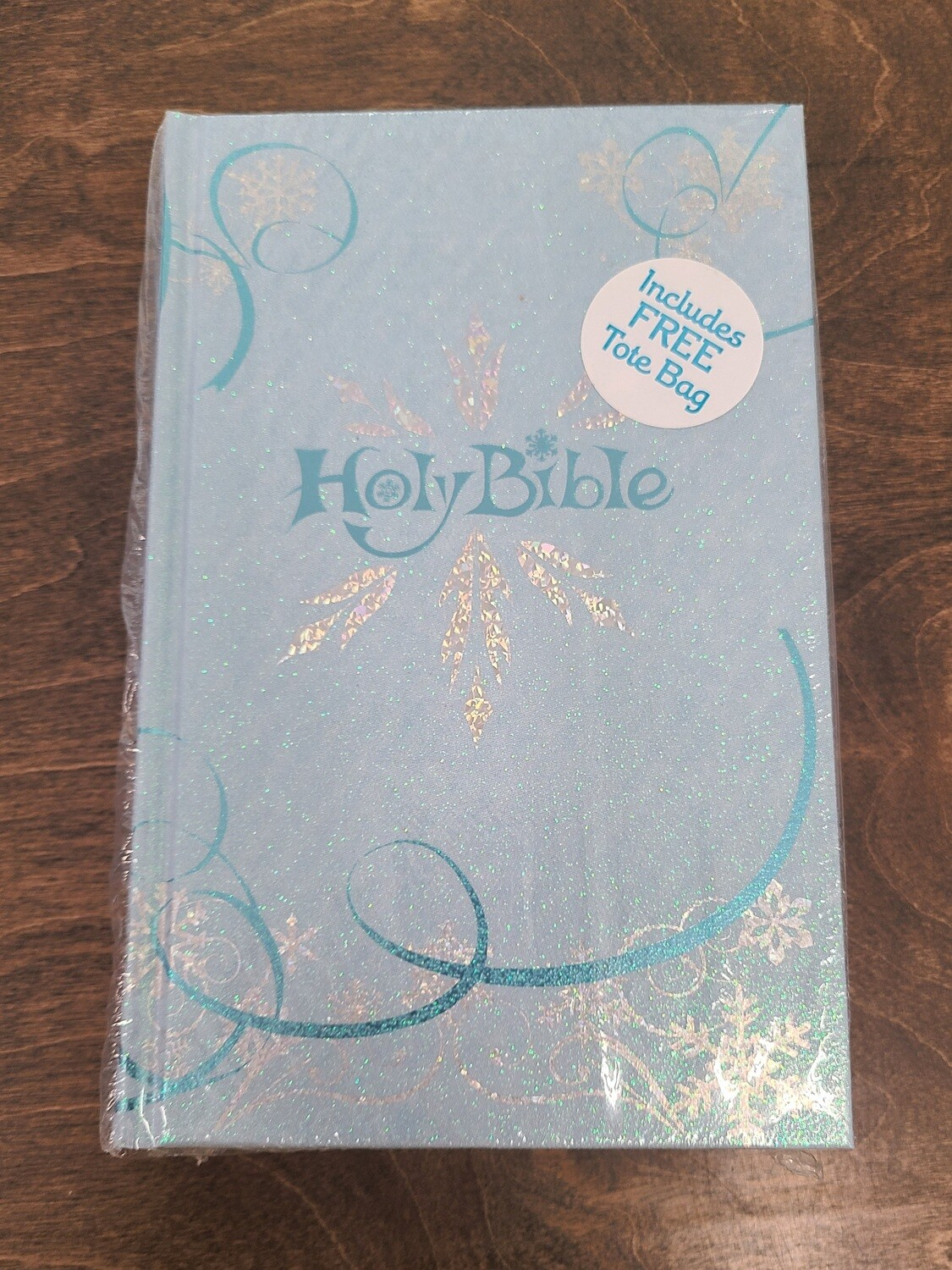 ICB Frost Blue Hardcover Bible