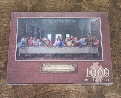 Last Supper 1,000 Piece Jigsaw Puzzle