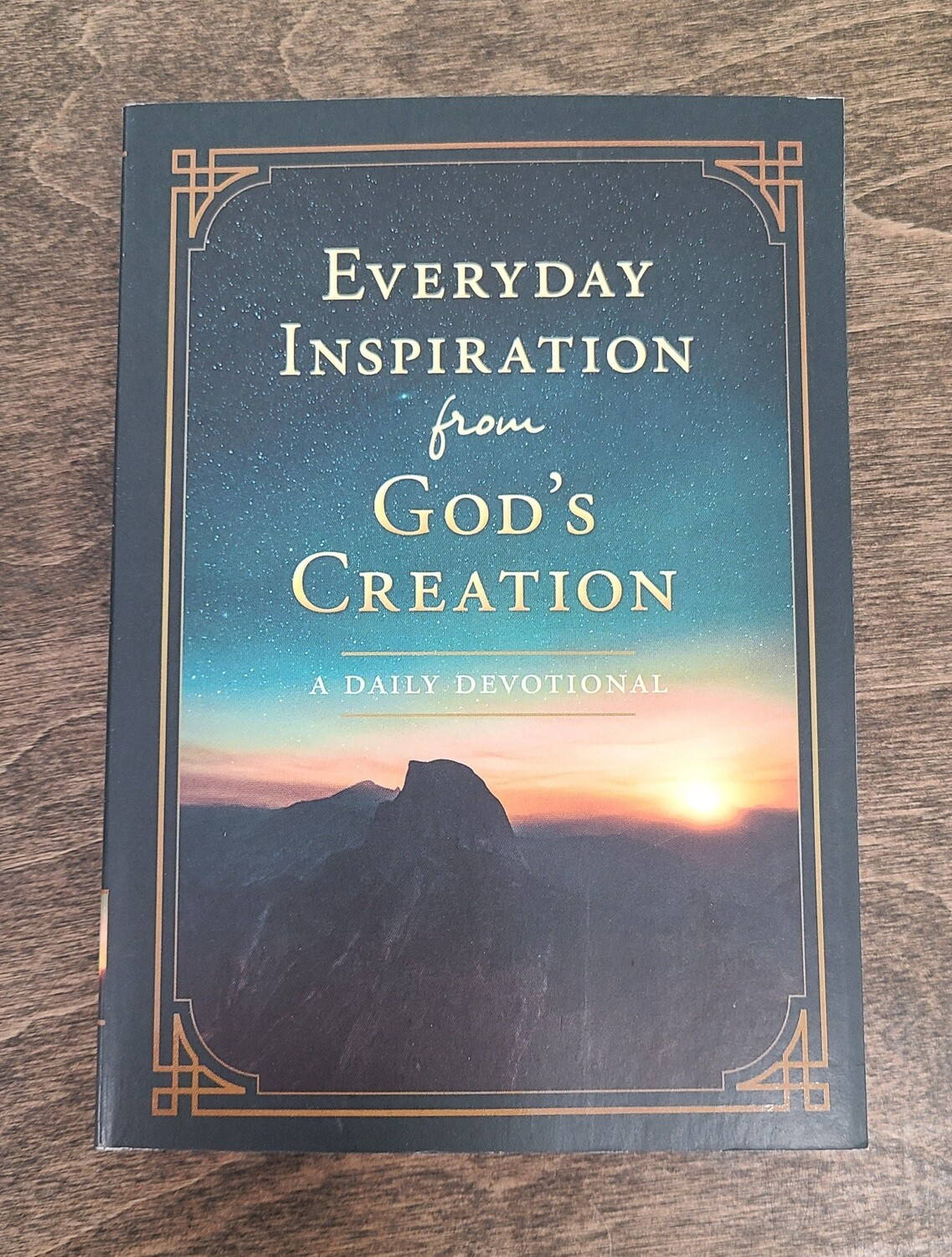 Everyday Inspiration from God's Creation by Barbour Publishing, Inc.