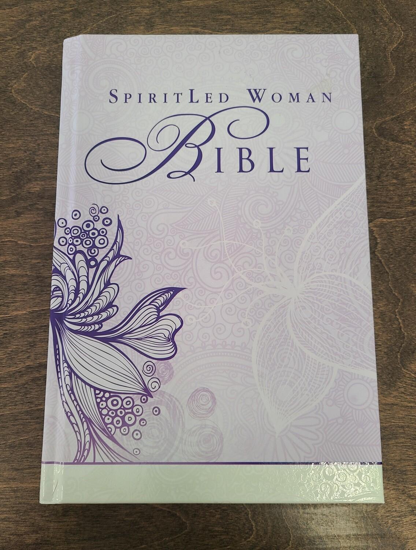 MEV SpiritLed Woman Bible - Lilac and Tan Hardback