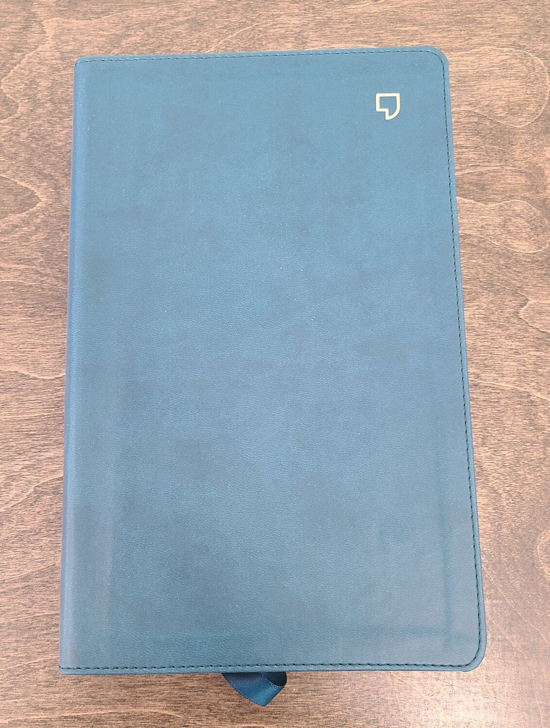 NET Thinline Thumb-Index Bible - Teal Leathersoft