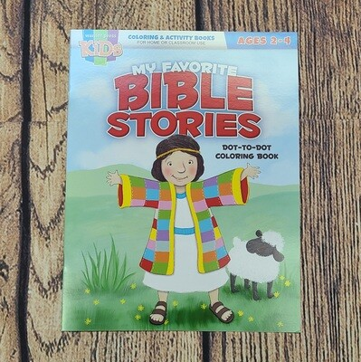 My Favorite Bible Stories Coloring and Activity Book for Kids