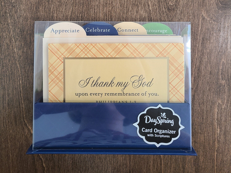 Dayspring Card Organizer with Scriptures