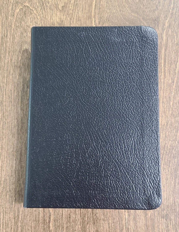 KJV Large Print Compact Reference Bible - Black Bonded Leather