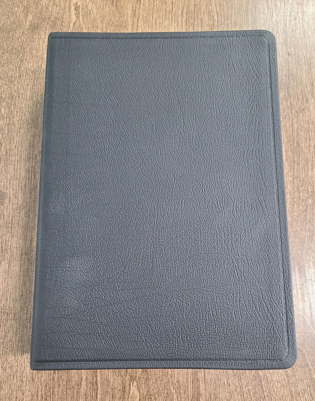 ESV Super Giant Print Bible - Black Genuine Leather