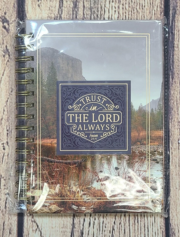 Trust in the Lord Wirebound Journal