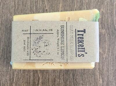 Goat's Milk Bar Soap - Sunshine Lemon
