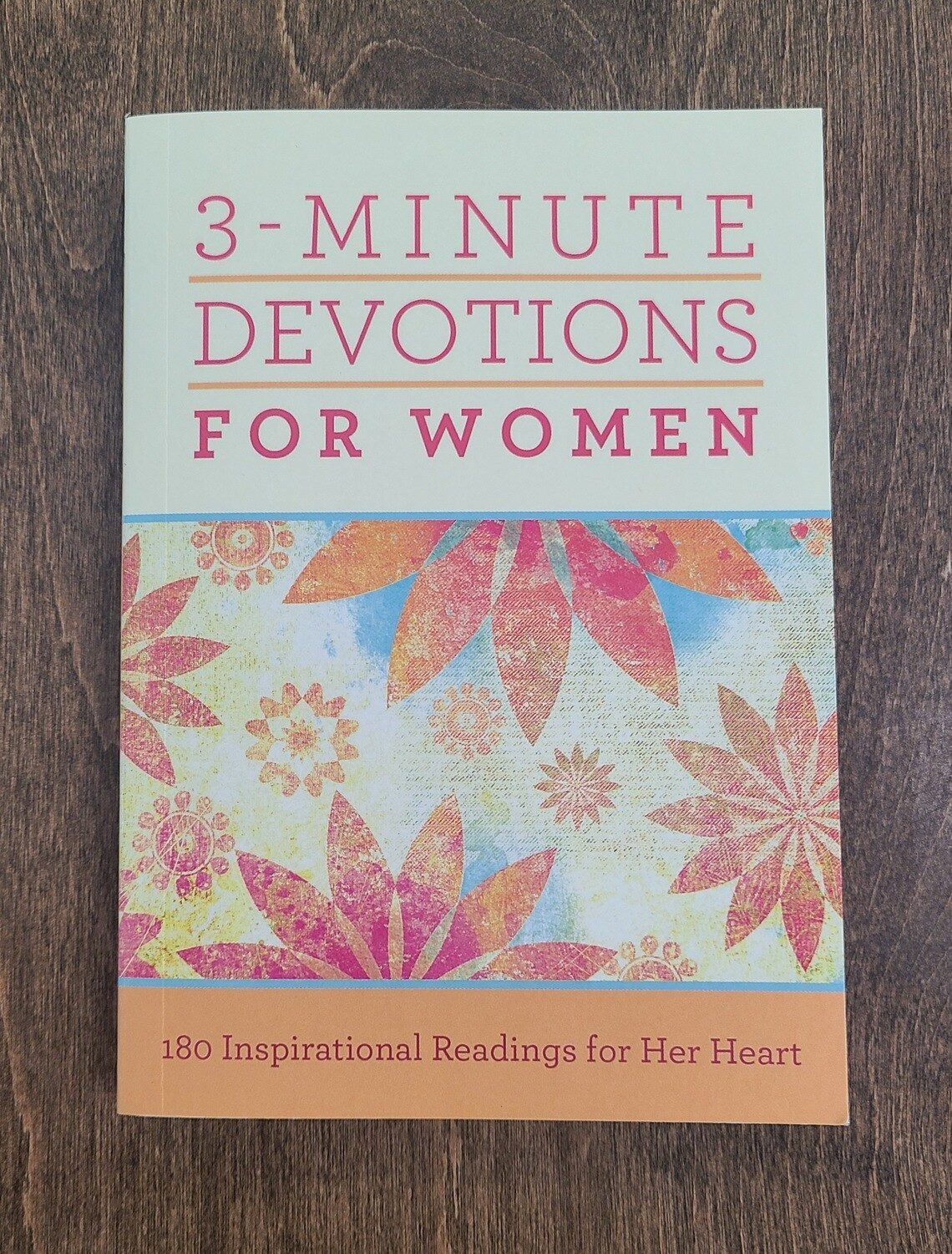 3-Minute Devotions for Women by Barbour Publishing Inc