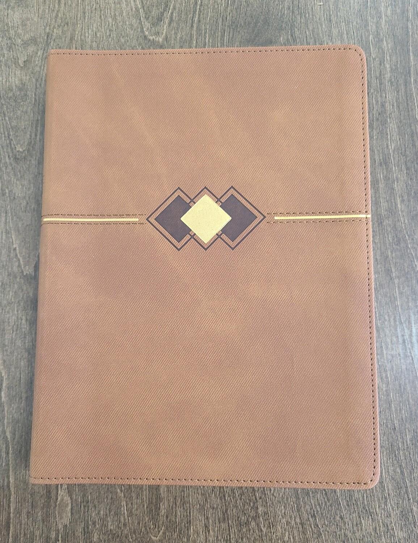 KJV Bible Promise Book - Hickory Diamond Leather