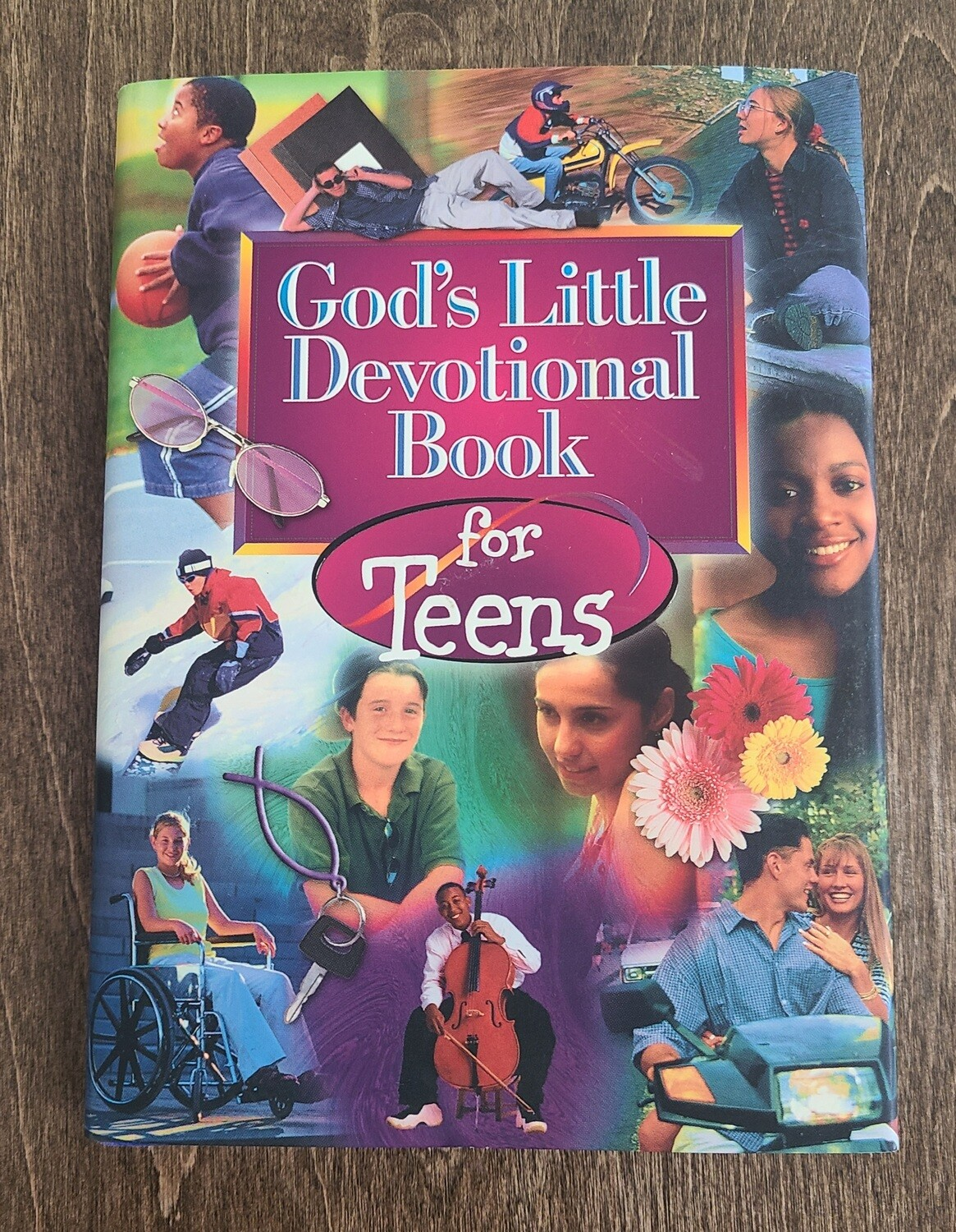 God's Little Devotional Book for Teens by Honor Books