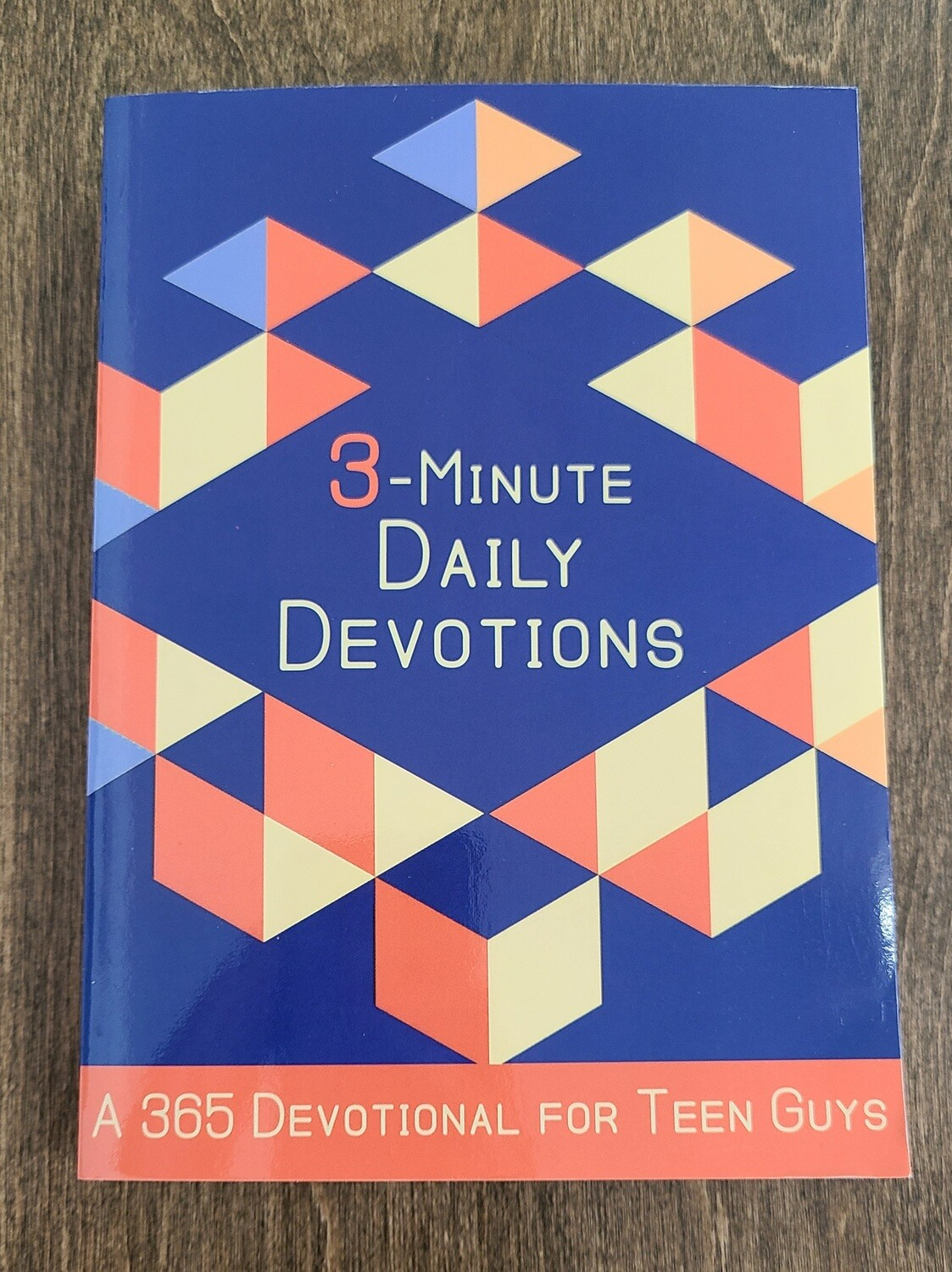3-Minute 365 Daily Devotions for Teen Guys by Jesse Campbell