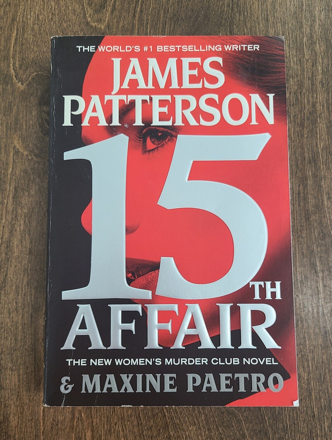 15th Affair by James Patterson - Paperback