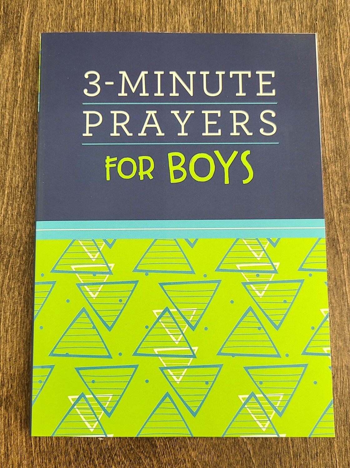 3-Minute Prayers for Boys by Josh Mosey