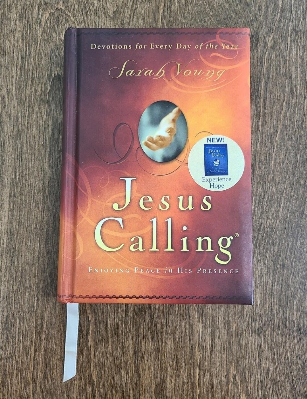 Jesus Calling by Sarah Young - Hardback