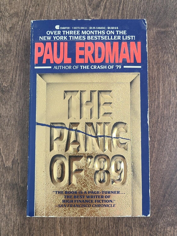 The Panic of '89 by Paul Erdman - Paperback