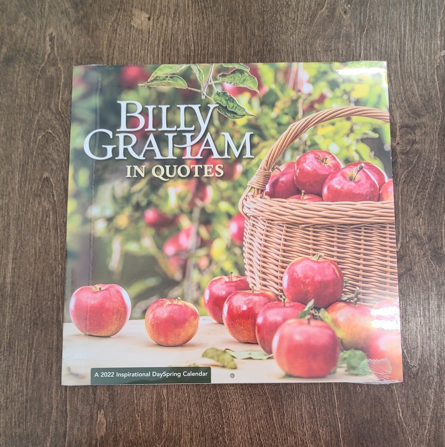 Billy Graham in Quotes Large Inspirational Calendar of 2022