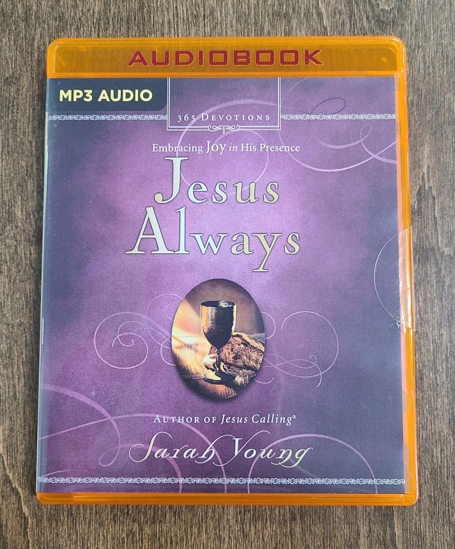 Jesus Always by Sarah Young - Audiobook