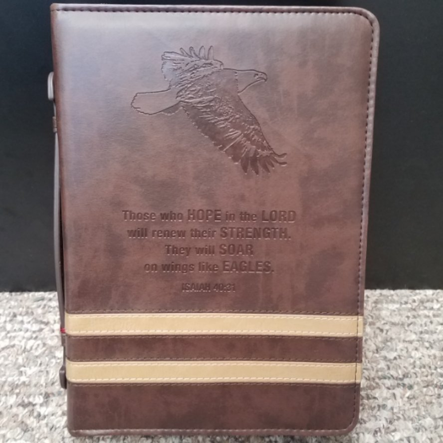 Isaiah 40:31 Bible Cover - Large