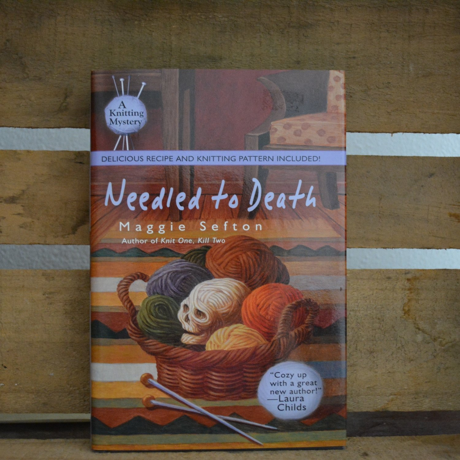 Needled to Death by Maggie Sefton - Hardback