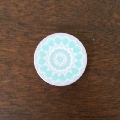 Pop-Up Mount - Peace Mandala Tiffany