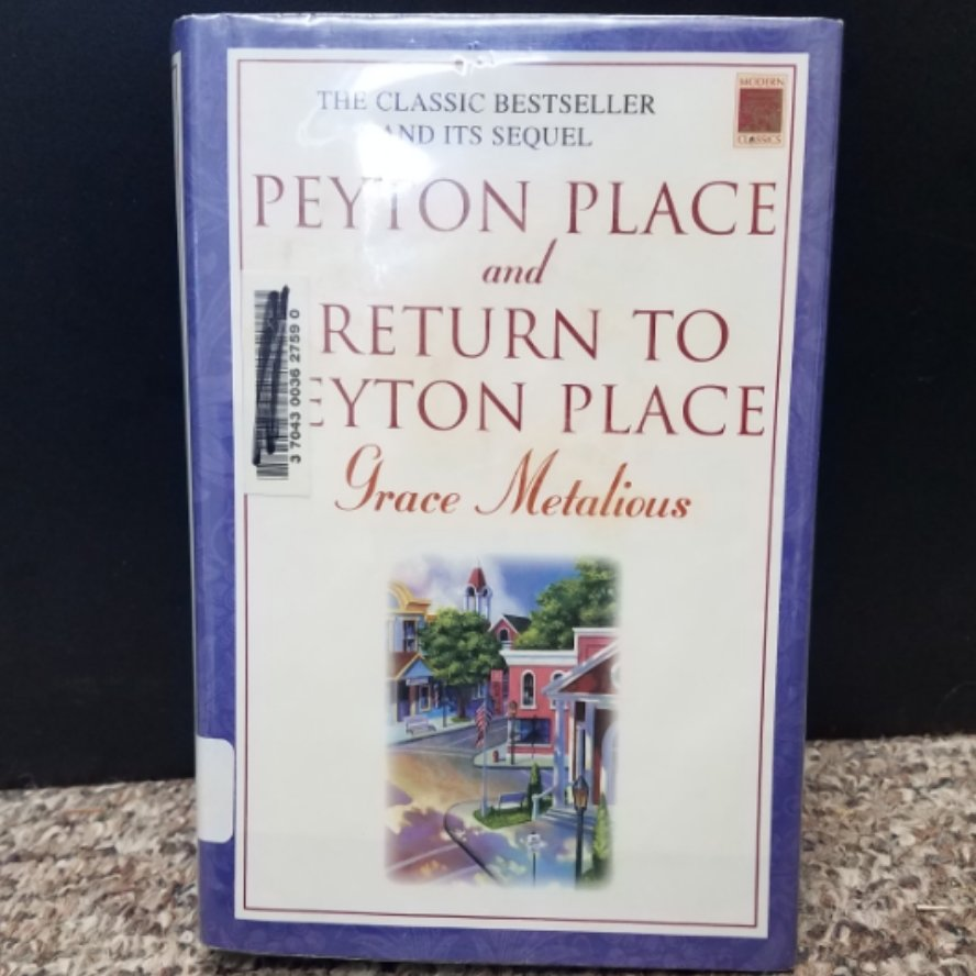 Peyton Place and Return To Peyton Place by Grace Metalious