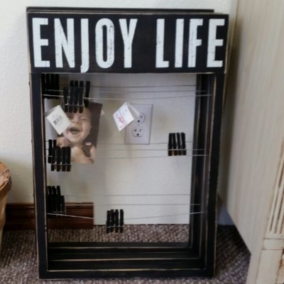 Enjoy Life Primitives by Kathy Frame - 17.50