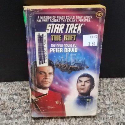 Star Trek: The Rift by Peter David