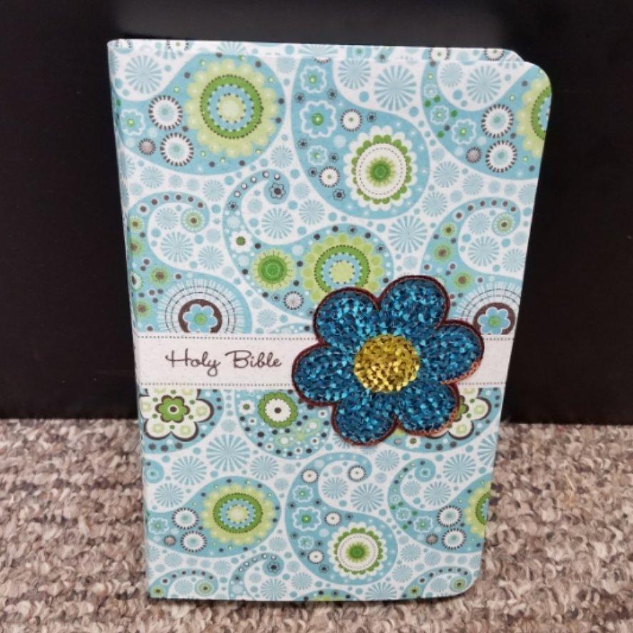 NIV Sequin Blue Bible