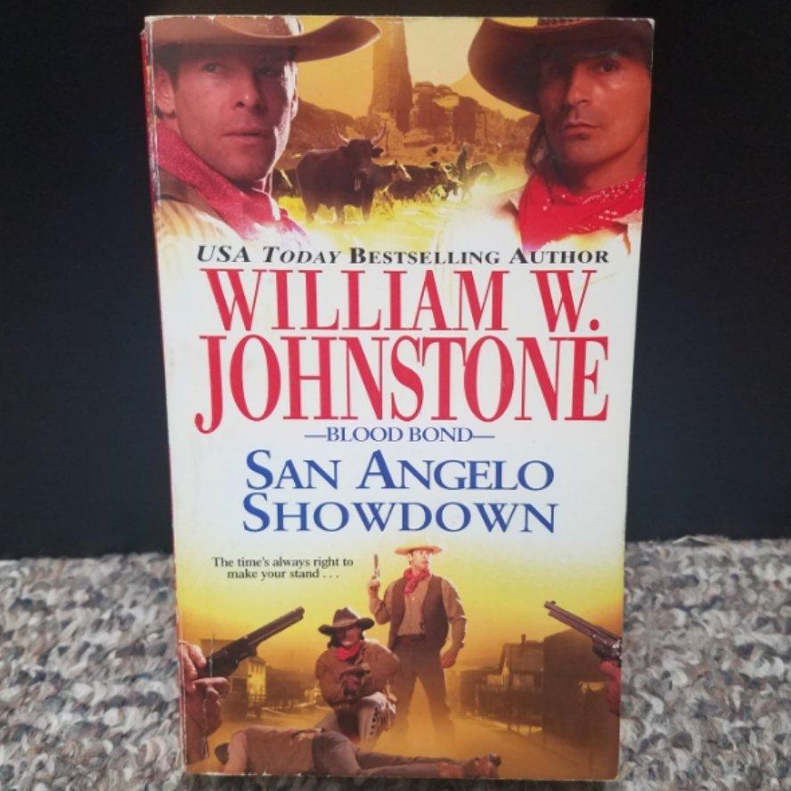 Blood Bond: San Angelo Showdown by William W. Johnstone